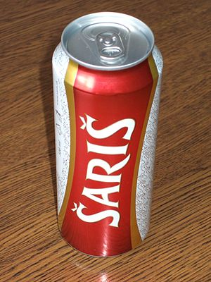Šariš Brewery - Šariš beer can