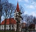 Šilutės evangelikų liuteronų bažnyčia ir paštas.JPG
