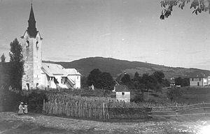 Adlešiči - Adlešiči in 1920