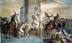 Islam in Russia - Bashkirs in Paris during the Napoleonic Wars, 1814