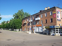 In central Bogoroditsk