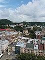 Вид на будинок Корнякта з вежі міської ратуші.jpg