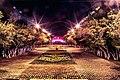 Г. Караганда. Вид на центральную аллею городского парка (ранее ЦПКиО им. 30летия ВЛКСМ).jpg