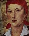 Девушка в красном платке (Работница). 1925.jpg