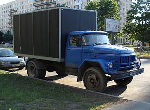 Amur (company) - АМУР-531350 (ZIL-130) with a ZIL-131 cab