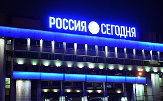 Rossiya Segodnya News agency owned and operated by the Russian government