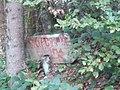 Знак за скретање за Бесеровачке Баре.jpg