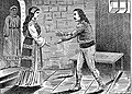 Књегиња Косара загледа краља Владимира у тамници (око 990).jpg