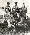 Офицеры 13-й мотострелковой дивизии НКВД перед отправкой в части РККА. 1942 год..jpg