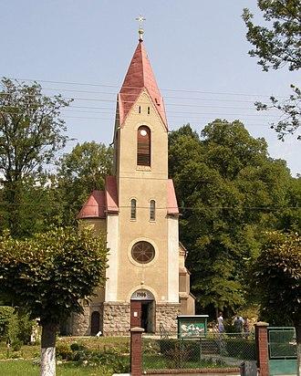 Perechyn - Image: Перечин. Римо католицький храм св. Августина (1906)