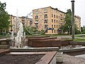Россия, Карелия, Петрозаводск, Центр, пр.Ленина,30, фонтан, 16-08 15.06.2008 - panoramio.jpg