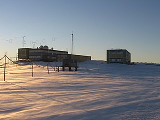 Antarctic station in Australian Antarctic Territory