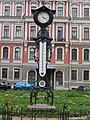 Старинный термогигрометр с часами.JPG