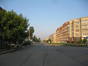 Chernushka, Chernushinsky District, Perm Krai - Mira Street in Chernushka