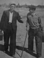 Фёдор Самохин и Сергей Фиксин 1950 год.png