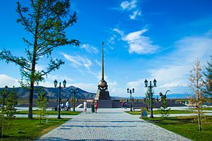 "Tuva - The geographic ""center of Asia"", 2015"
