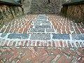 বাঘা মসজিদের উত্তর দিকে নামার সিঁড়ি.jpg
