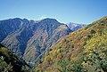 南アルプス、林道からの秋の山 - panoramio.jpg
