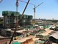 水星园(04年8月) - 1号楼在建 - panoramio.jpg