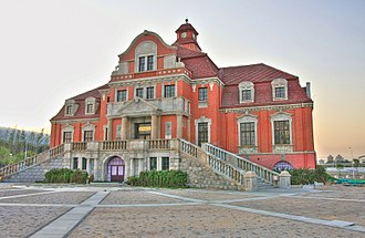 Tianjin West railway station - Old Tianjin West Railway Station, built in 1910.