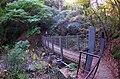 牛滝山渓流歩道の吊り橋 2013.11.23 - panoramio.jpg