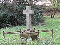 -2018-11-04 Grave memorial, Parish church of Saint Giles, Bradfield, Norfolk.JPG