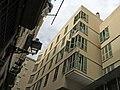 005 Edifici al carrer del Carme, 55-57 - carrer d'en Roig, 28-38 (Barcelona), façana del c. d'en Roig.jpg
