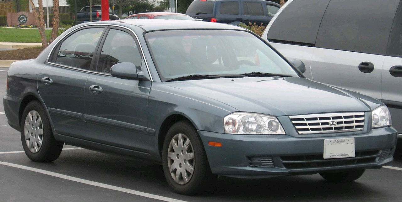 KIA Optima (Magentis) 1