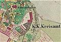 01853 Katasterplan von Sanok, 1853, Galizien Cropped.jpg