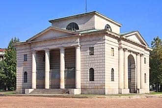 Porta Sempione - Former toll house of Porta Sempione