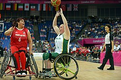 2012 Summer Paralympics vs. Mexico (Image: APC)