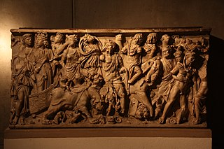 Sarcophagus of the Triumph of Bacchus