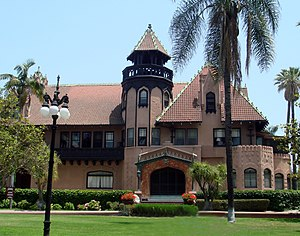 Edward L. Doheny - The Doheny Mansion, three miles south-west of Downtown Los Angeles, is the centrepiece of the Mount St. Mary's College Doheny Campus.