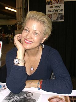 Anderson at the Big Apple Convention in مینہیٹن, October 17, 2009.
