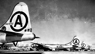 106th Rescue Wing - 106th Bombardment Wing B-29 Superfortresses at March AFB, 1951