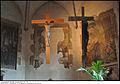 1085 - Milano - S. Maria Incoronata - Destro Abside - Altare - Crocifisso ligneo cinquecentesco - scuola ghib - Foto Maurizio OM Ongaro, 21-Aug-2014, DSC 1085.jpg