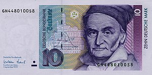 Deutsche Bundesbank - A 10 DM Note, Issued By The Bundesbank