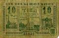 10 centiemen banknote from Kontich.png