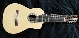Eleven-string alto guitar