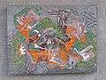 1100 Bergtaidingweg 21 Stg. 47 PAHO - Smaltenmosaik-Hauszeichen Abstrakte Komposition von Edda Mally IMG 7677.jpg