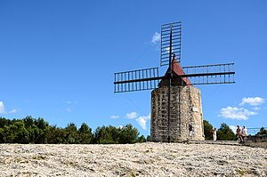 Letters from My Windmill - Mill of Alphonse Daudet at Fontvieille