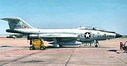 136th Fighter-Interceptor Squadron - McDonnell F-101F-106-MC Voodoo 58-0262