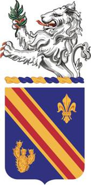 152nd Infantry Regiment (United States) - Coat of arms