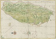 1640 Map of Formosa-Taiwan by Dutch 荷蘭人所繪福爾摩沙-臺灣.jpg