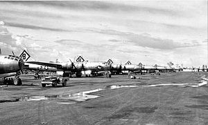 16th Bomb Group B-29s Northwest Field Guam 1945.jpg