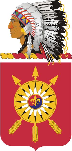 171st Field Artillery Regiment - Coat of arms