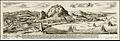 1727 Gibraltar Map Christian Freidrich von der Heiden - dutch view.jpg