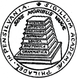 Seal of the College of Philadelphia 1757 UPenn Seal.png