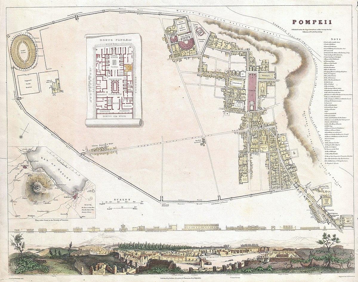 Storia degli scavi archeologici di pompei wikipedia for Una casa di storia