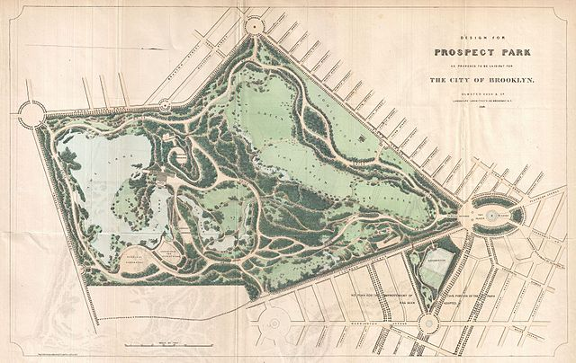 file 1868 vaux and olmstead map of prospect park brooklyn new